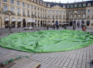 Tree dégonflée, au matin du 18 octobre 2014 | Photo AFP